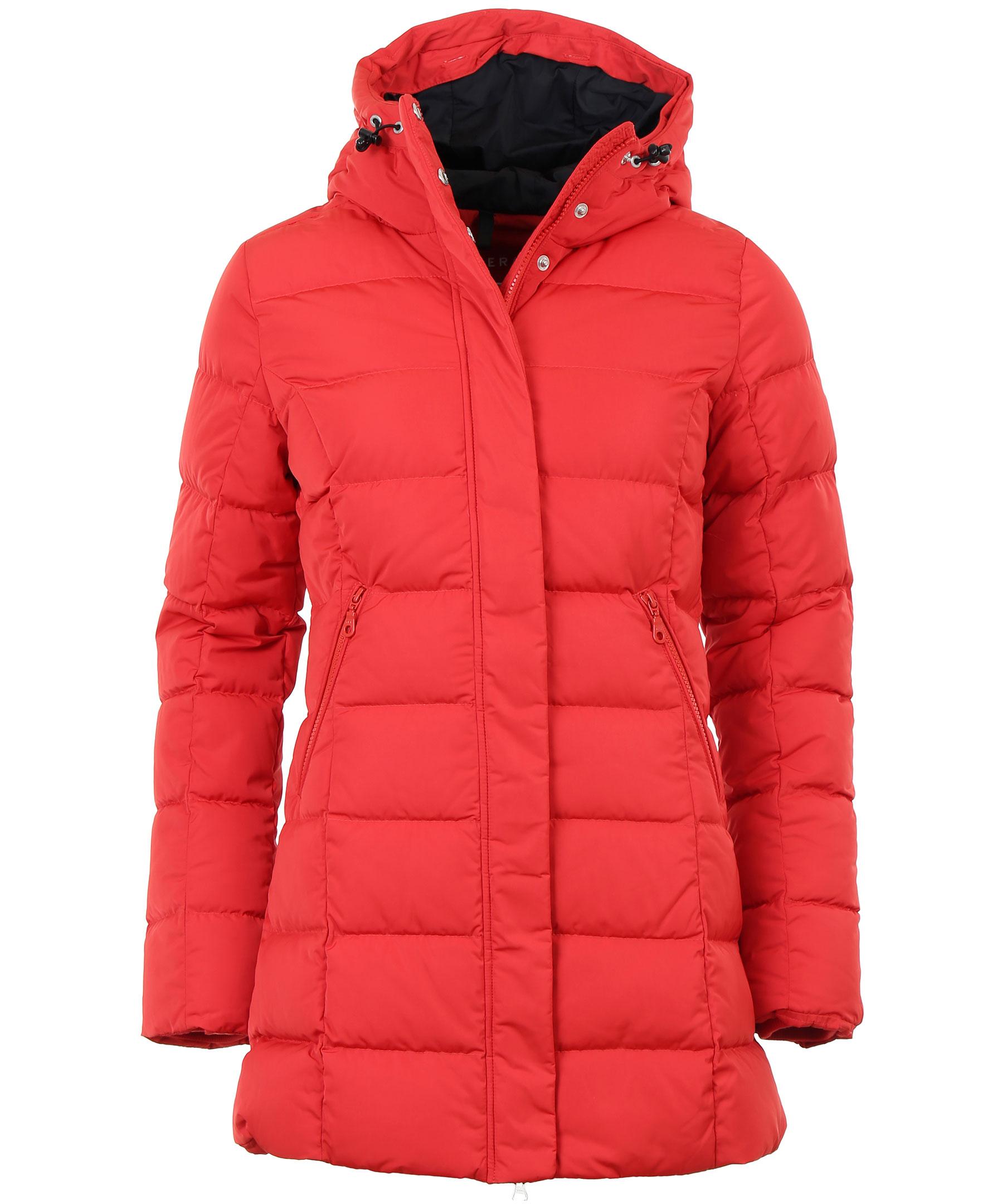 Siri Down Jacket, röd