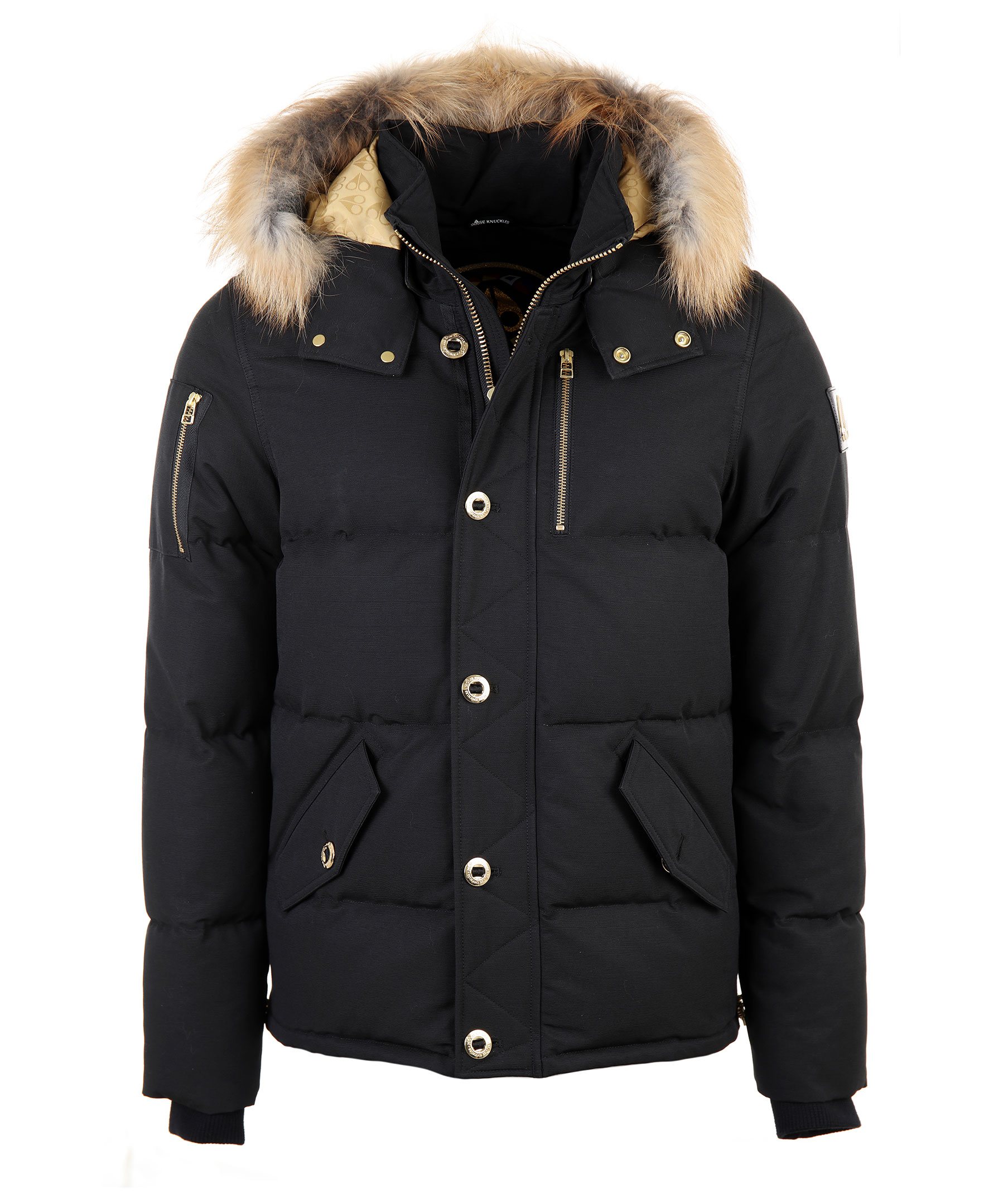 Black Forestville Jacket  Moose Knuckles  Dunjackor