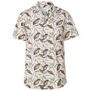 Latif Flower Print Shirt