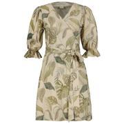 Willa silk wrap dress