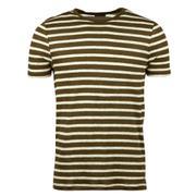 Striped Linnen T-Shirt