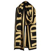 Macro logo scarf